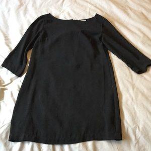 Women's, Black Leith T-Shirt style Dress, Size XS